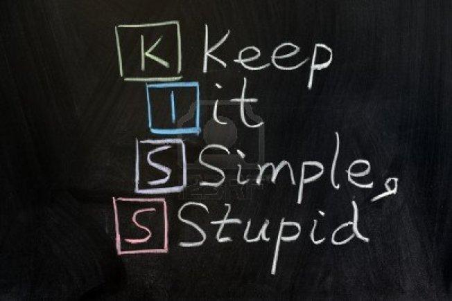 12701765-chalk-drawing--kiss-keep-it-simple-stupid