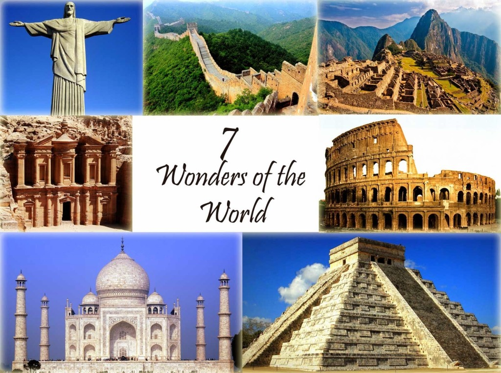 The Seven Wonders of the Ancient World  Famous Wonders